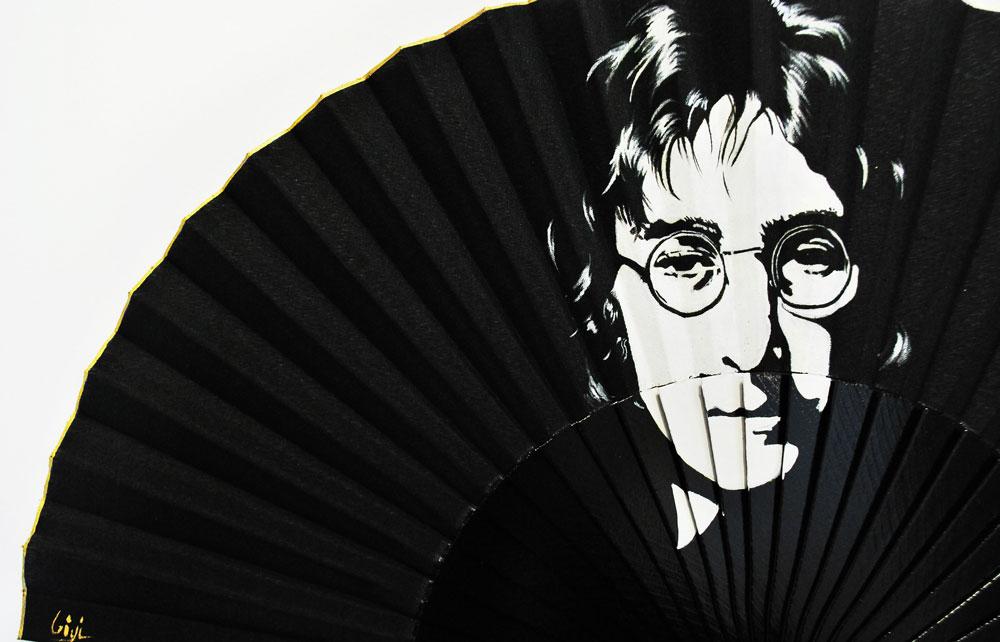 Detail John Lennon Handfan