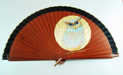 owl handfan by Gigi