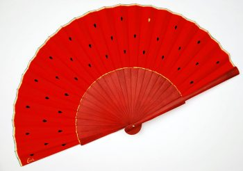 watermelon handfan by gigi