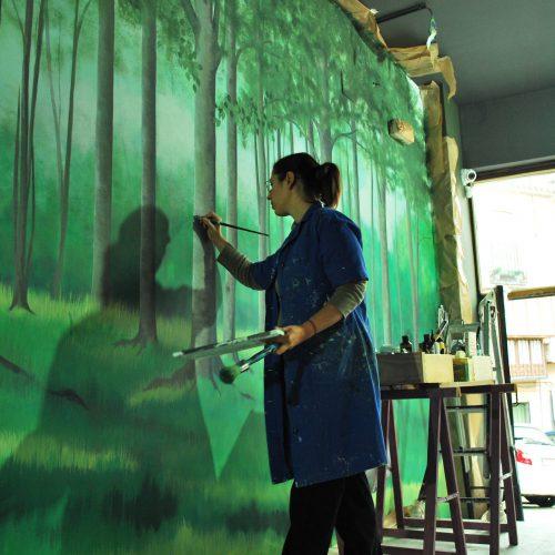 Mural-Virginia-Jimenez-Gigi-hand-fans