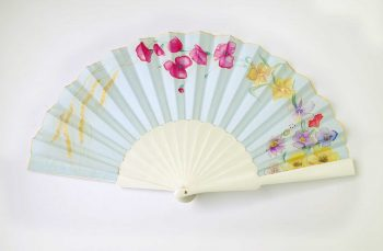 Abanico de novia, wedding hand fans, marriage eventail
