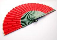 gigi-hand-fans-watermelon-green