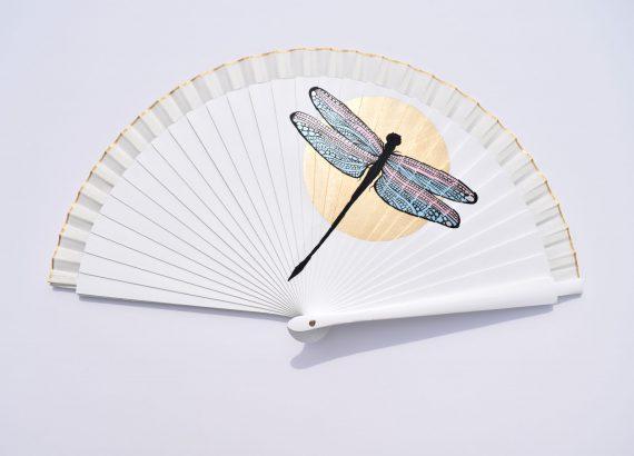 Abanico de novia libélula