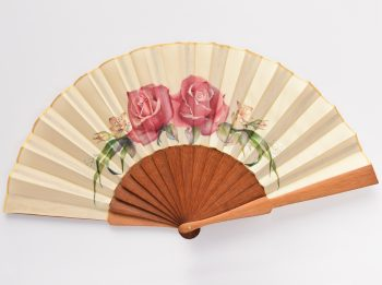 wedding hand fans, silk folding fans