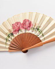 abanico–rosas