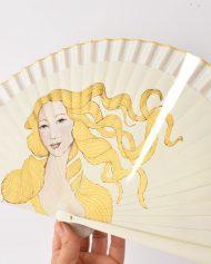 hand-fan-venus-bootticelli