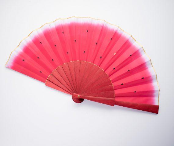 watermelon hand fan