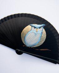 gigi-hand-fans-black-owl