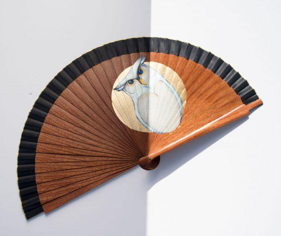 Abanico Sipo ilustracion buho nival